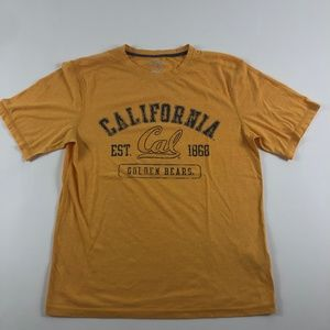 Champion Men's T-Shirt Fitted Cal Golden Bears Tee